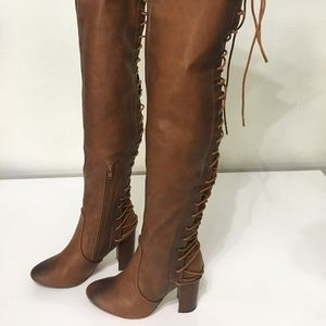 Shoes - Long Laced Boots